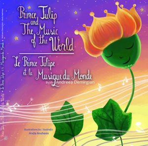 "Cover image for ""Prince Tulip and The Music of the World"" English-French Edition"